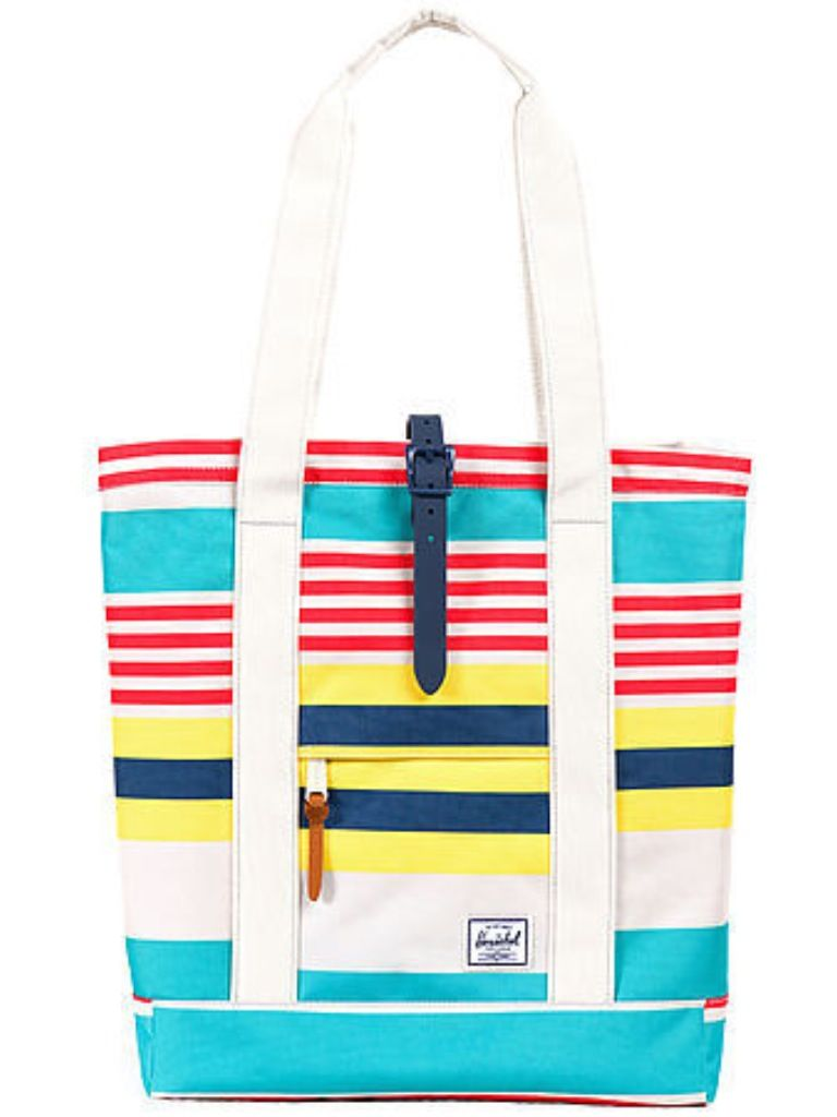 A Pretty Penny | Summer Carry-alls: Herschel Supply Co. The Market Tote in Malibu Street