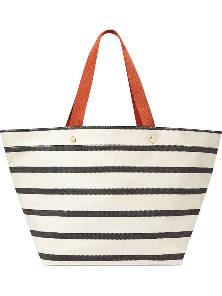 A Pretty Penny | Summer Carry-alls: Fossil Keyper Beach Tote