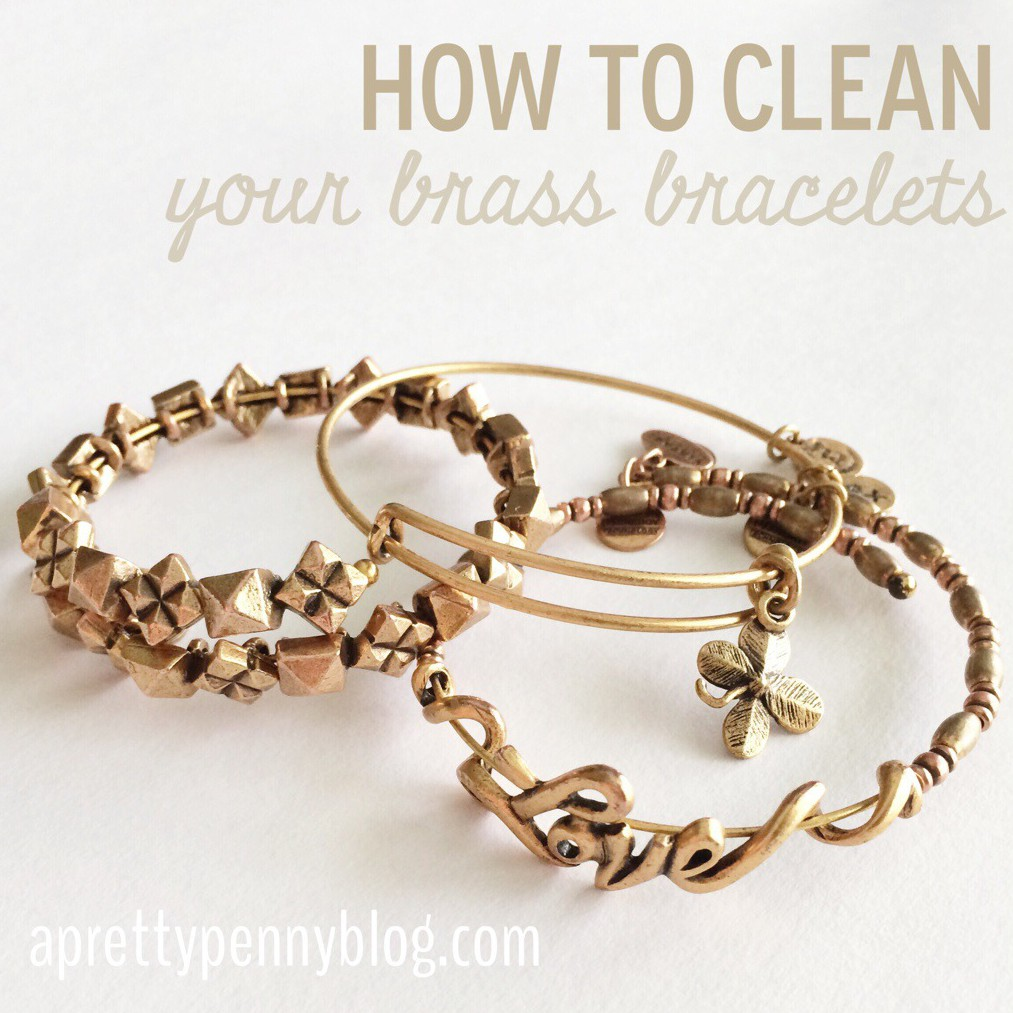 A Pretty Penny - How to Clean Brass Alex & Ani Bracelets