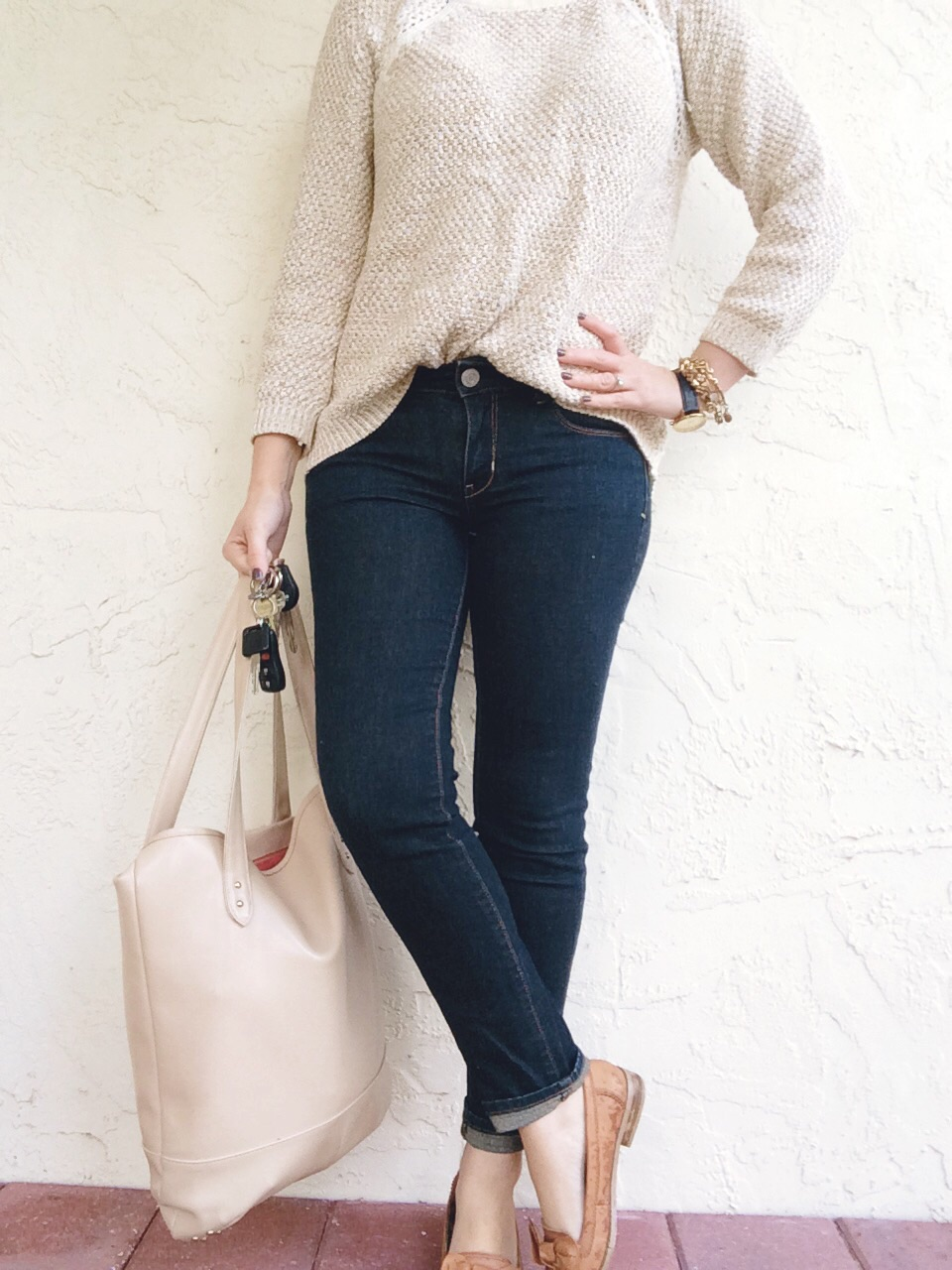 A Pretty Penny OOTD Jeans and Sweater