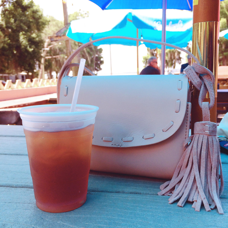 A Pretty Penny Zara Leather Mini Messenger Bag