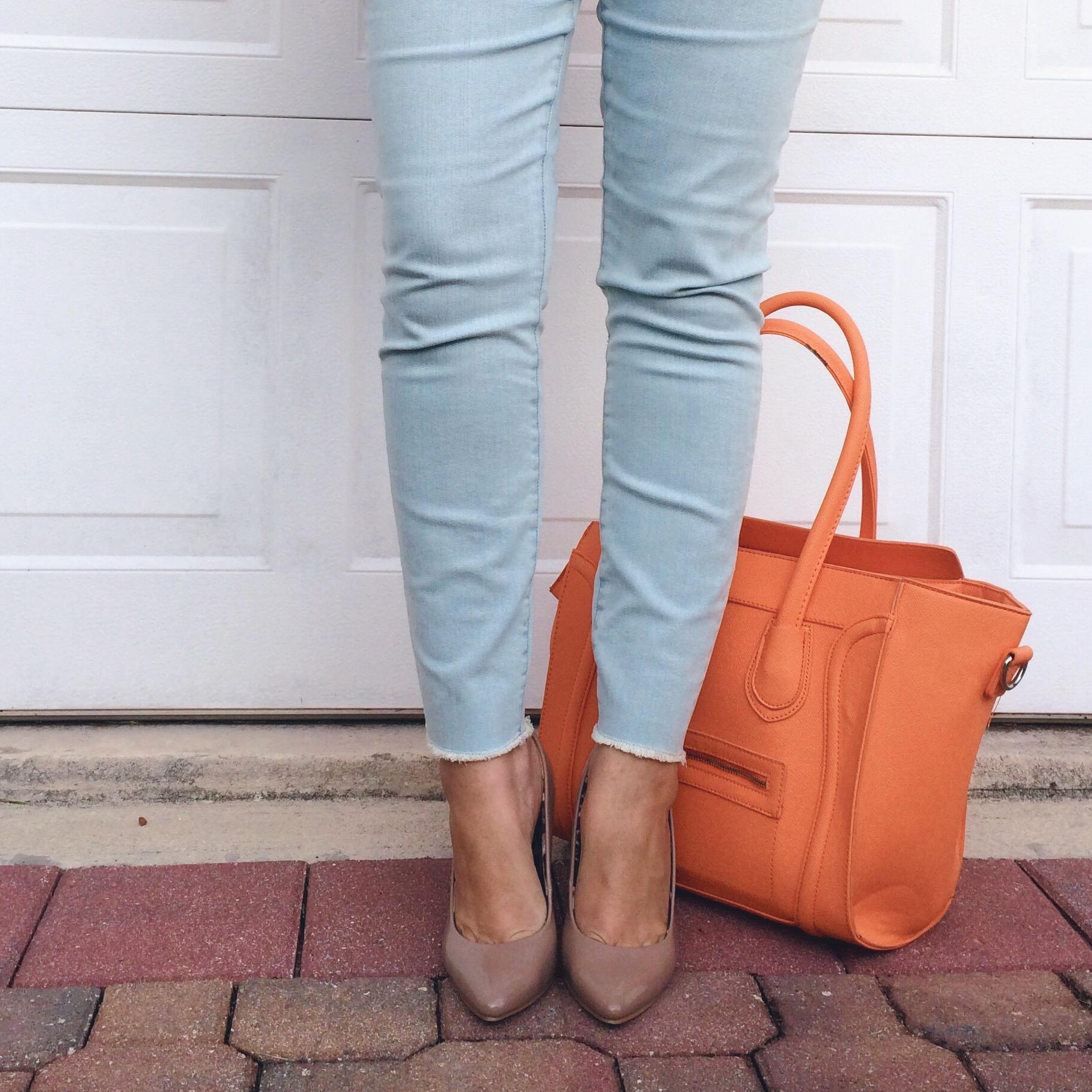 Loft Curvy High Waist Ankle Skinnies, Light Wash Jeans, Style Blogger, Summer Outfit Ideas