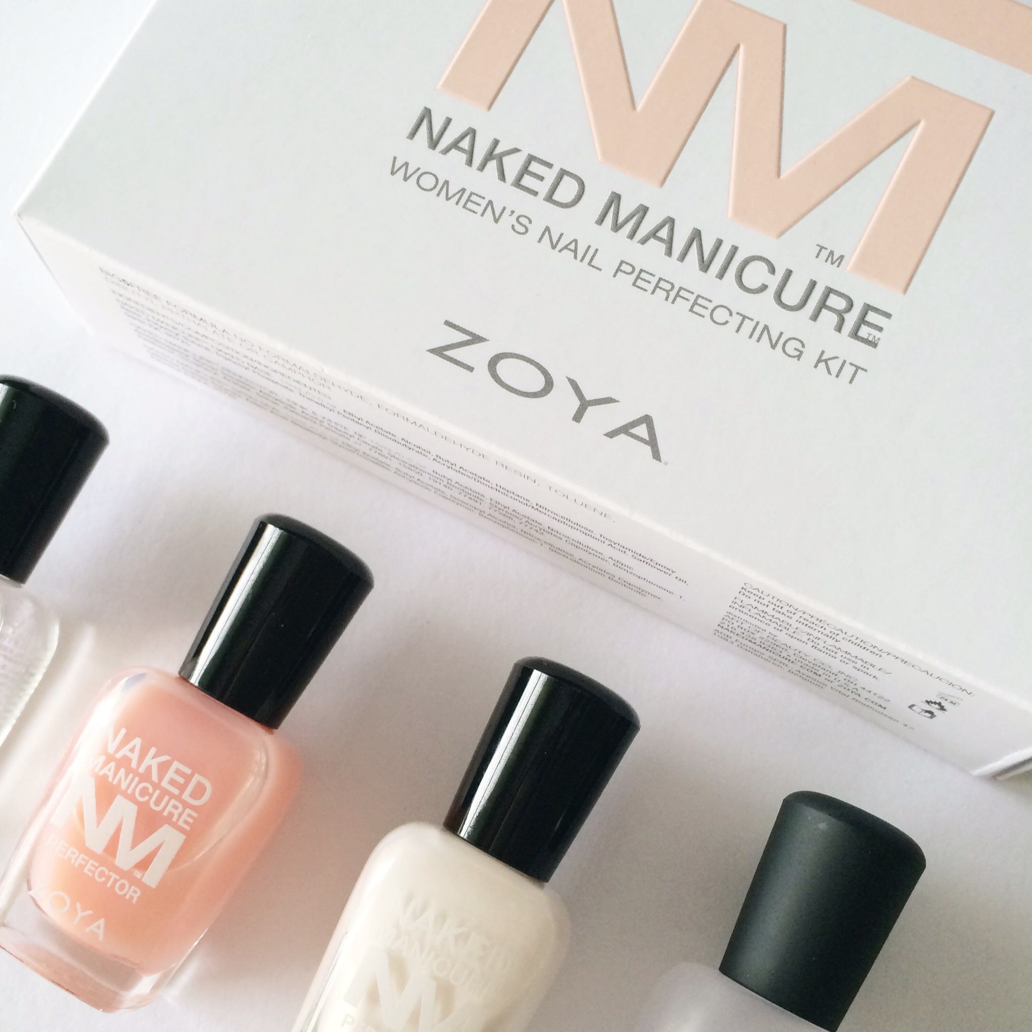 Zoya Naked Manicure Womens Nail Perfecting Kit, DIY Manicure