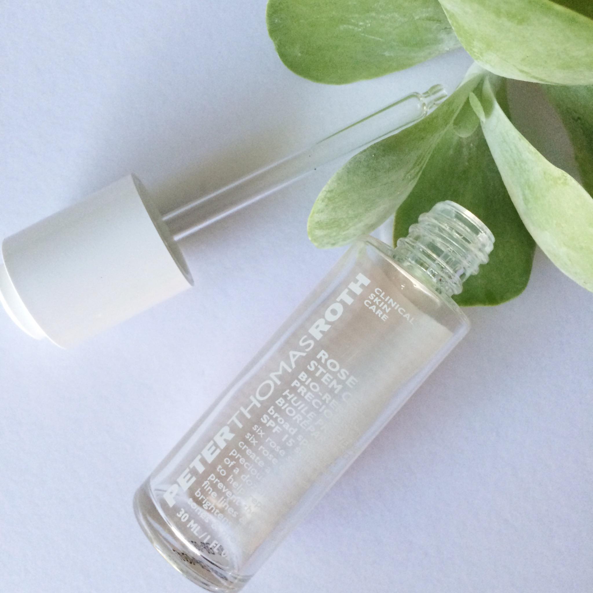 Keira Lennox Beauty Empties | Peter Thomas Roth Rose Stem Cell Bio-Repair Precious Oil SPF 15