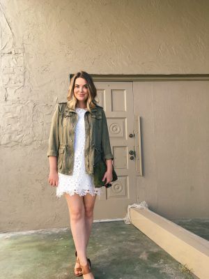 fashion, women fashion, style blog, summer outfit ideas, how to wear an anorak jacket