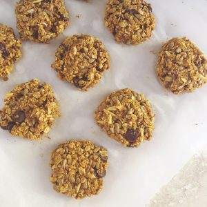 fall baking, breakfast recipes, grab and go breakfast recipes, breakfast cookies, healthy breakfast cookies