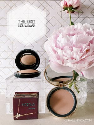 Best Bronzers For Light Skin, Bronzers For Light Complexions, Best Bronzers