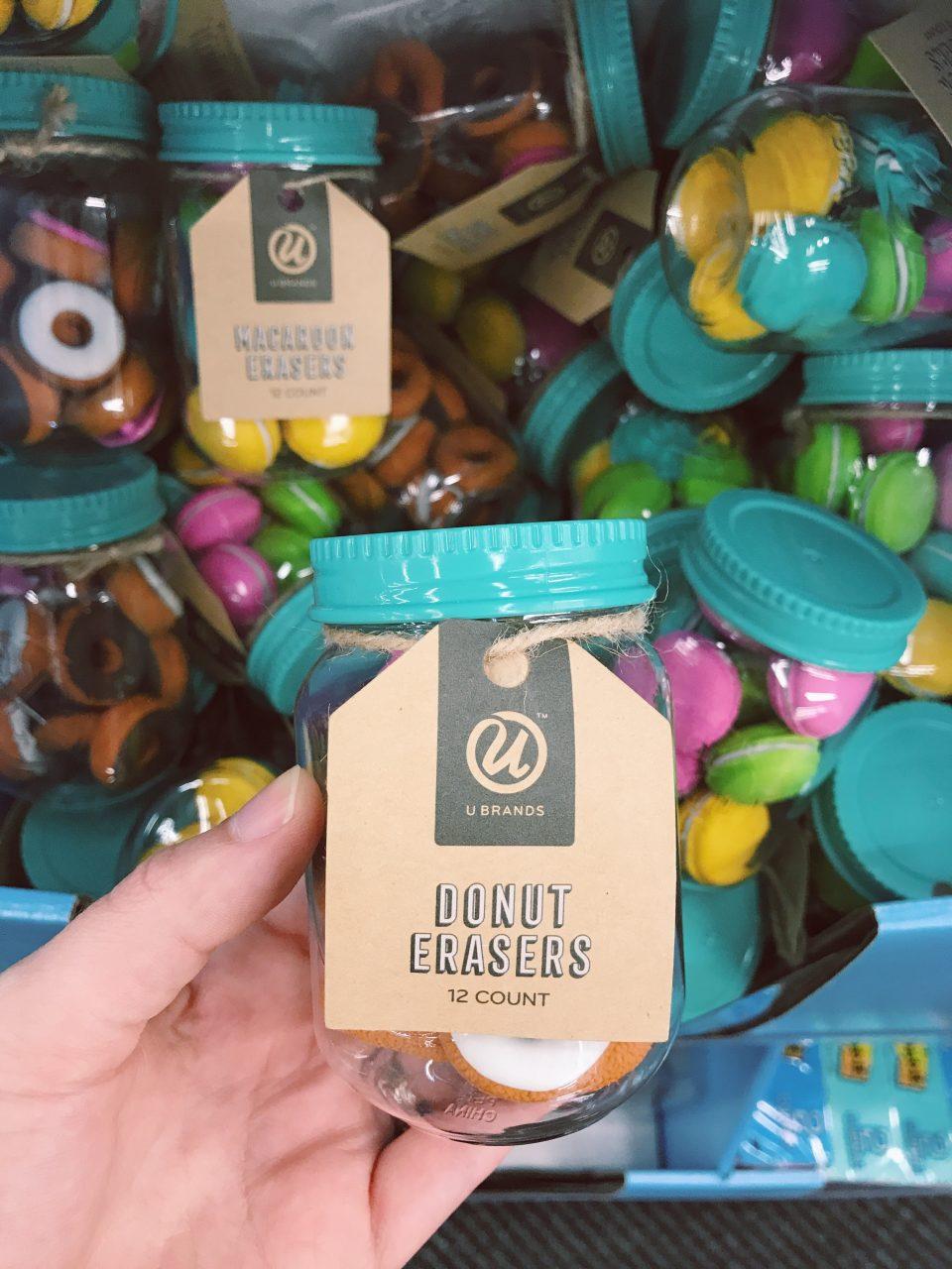 Back to School, Donut Erasers, Cute School Supplies