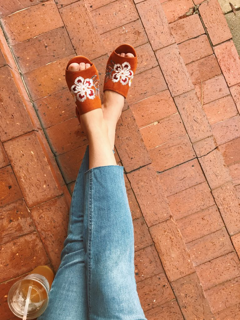 Embroidered Mules, 90s Fashion Trends, Women's Fashion, TJMaxx