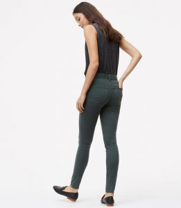 LOFT Leggings Sateen Five Pocket Marisa Fit