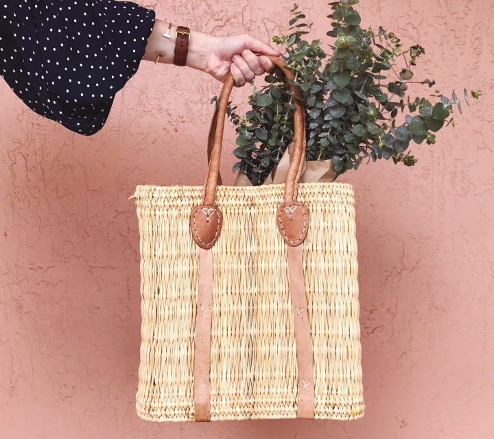 Spring Trend Straw Tote Bags
