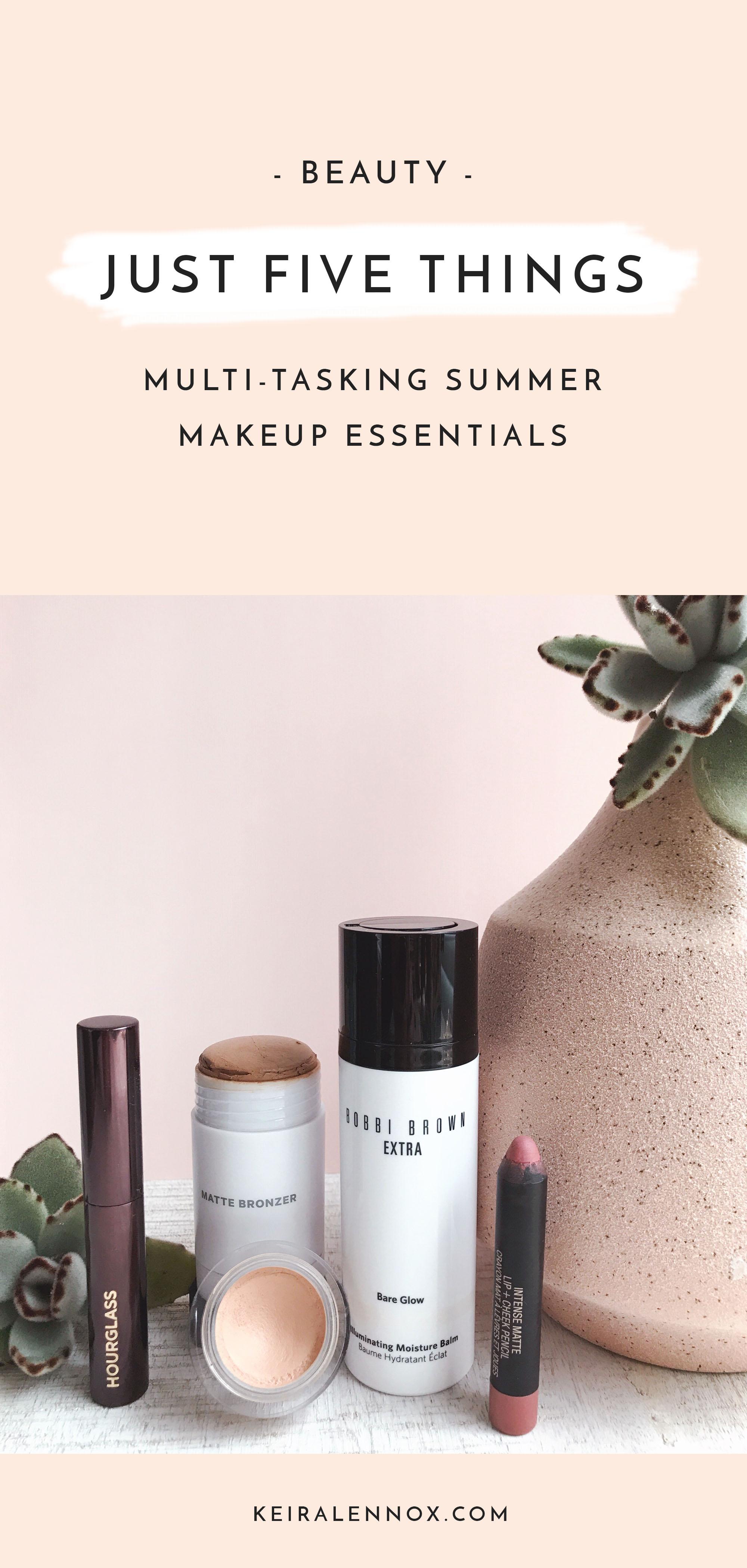 Summer Beauty - 5 Multi-tasking summer makeup essentials