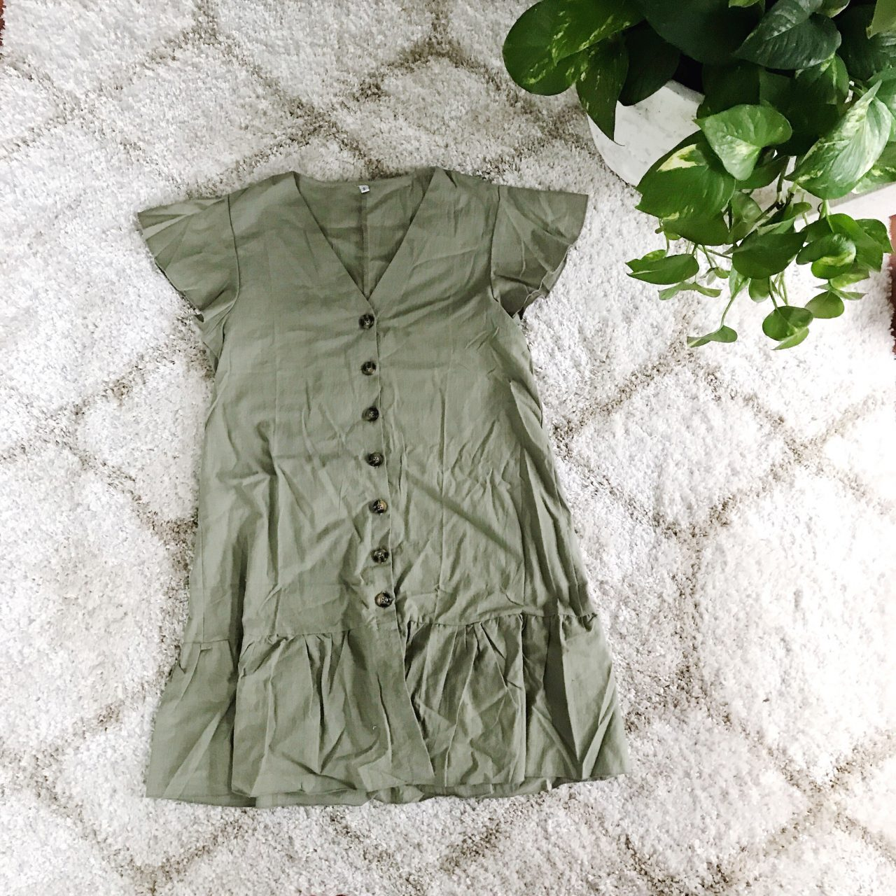 Amazon Ruffle Dress Summer 2018 Review