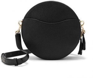 Cuyana Leather Circle Crossbody Bag
