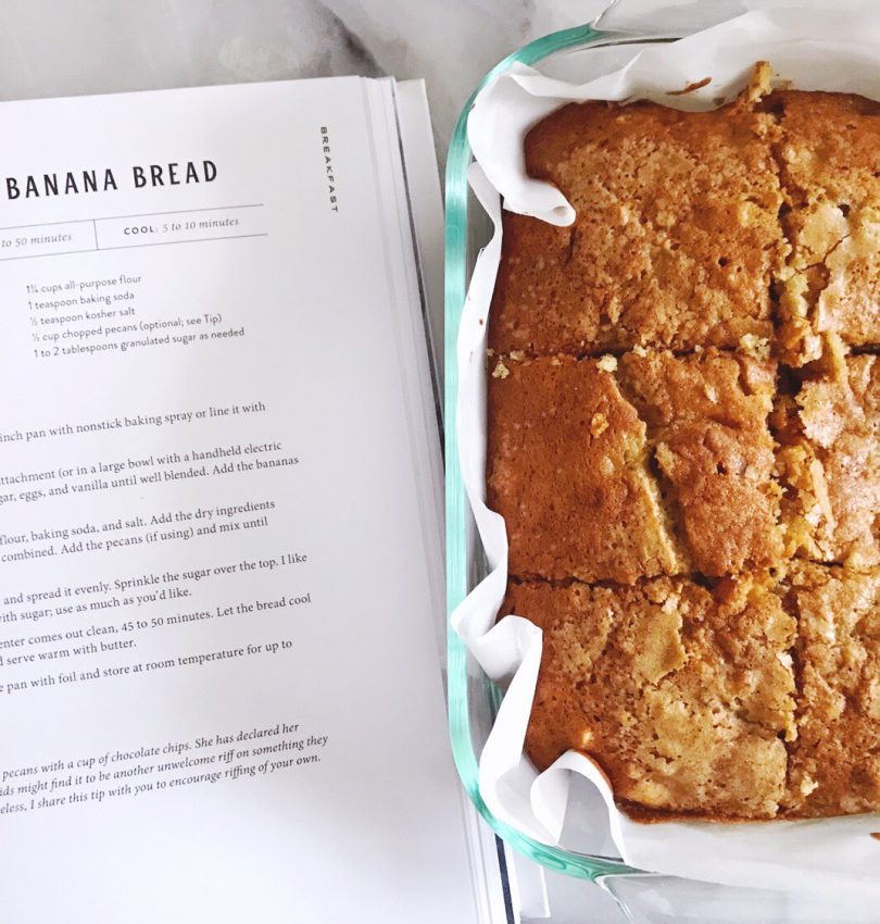 Magnolia Table cookbook 'After School Banana Bread' recipe