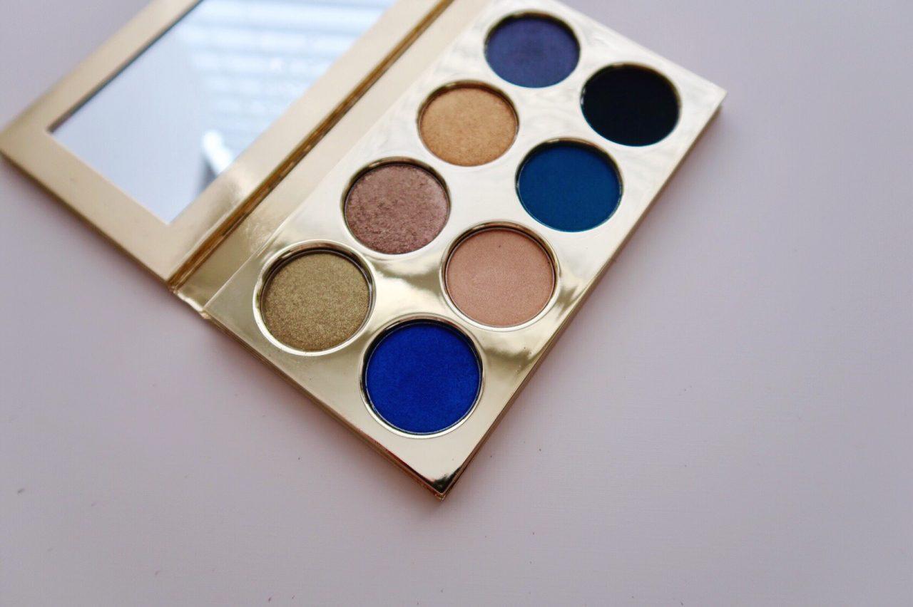 Violette Fr x Estee Lauder La Dangereuse Blue Dahlia Eyeshadow Palette