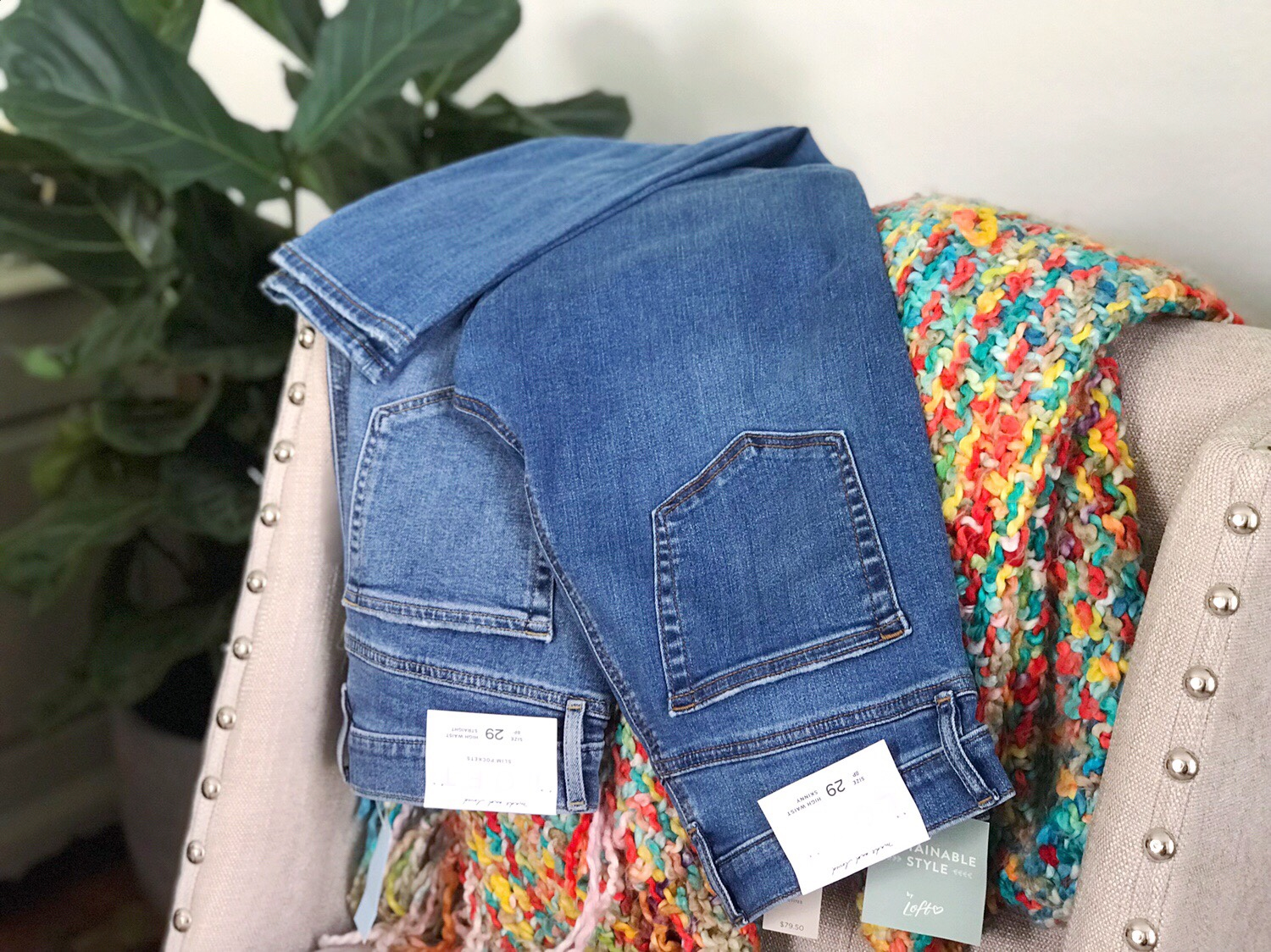 LOFT High Rise Denim Review Fall 2019