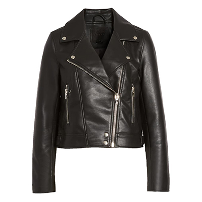 The best vegan leather jacket you'll find.